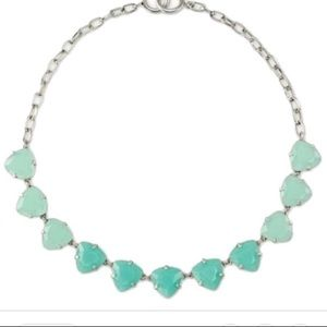 Stella and Dot Somerville necklace in aqua